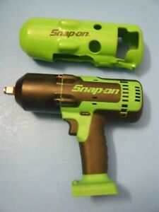 Snap on 18v 1 2 Impact Wrench tool Only Ct8850g like New Boot