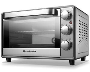 Homeleader Toaster Oven Fits 6 slice Bread 12 inch Pizza Contertop Oven With