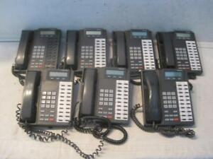 Lot Of 7 Toshiba Dkt2020 sd Display Business Office Telephones