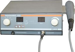 New Advanced Electrotherapy Physiotherapy Ultrasound Device 1 Mhz Machine Uipb