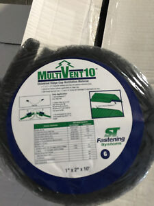 200 Feet Multivent 10g Sealtight Venting Foam For Metal Roofing