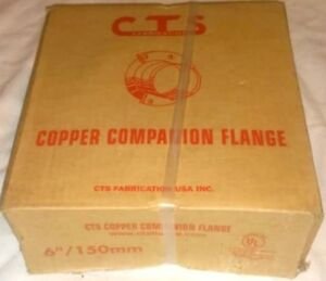 6 Inch 150mm Cts Copper Companion Flange By Cts