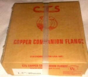 1 5 40mm Cts Copper Companion Flange By Cts