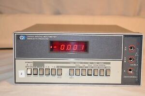 Agilent Hp 3465a Digital Multimeter