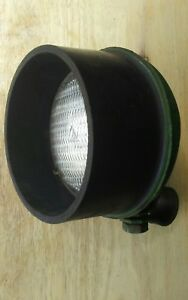 Vintage Pre Owned Guide 8 Tractor Light With Rubber Guard For Parts Or Repair