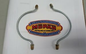 1952 1953 1954 Plymouth New Front Wheel Cylinder To Wheel Cylinder Brake Line