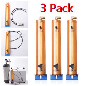 3x 30mpa High Pressure Air Filter Oil water Separator For Air Pump Air Tank