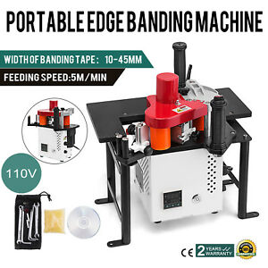 Woodworking 80a Portable Edge Bander Banding Machine 110v