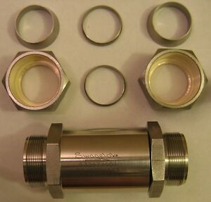 Swagelok Compression Ss 16c 1 3 Poppet Stainless Steel Check Valve 1 25 40 Mm