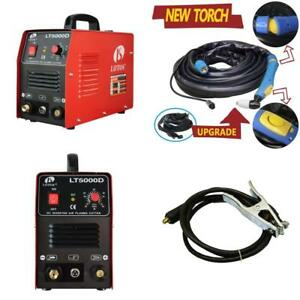 Lotos Lt5000d Plasma Cutter 50amps Dual Voltage Compact Metal Cutter 110 220v Ac