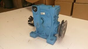 Canimex Ch50 Worm Gear Reducer Gearbox Size 50 60 1 Ratio W oil Heater pulley
