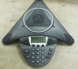 Polycom Soundstation Ip6000 Hdvoice Conference Voip Speaker Phone 2201 15600 001