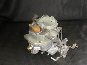 Ros 2bbl Carter Bbd Carburetor 1977 And 1978 2bbl Jeep 258 Eng Bolt On Ready