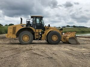 Caterpillar 980h Front End Wheel Loader Good Running Condition High Lift