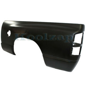 02 09 Ram Pickup Truck W 6 Bed Rear Fender Outer Quarter Panel Steel Left Side