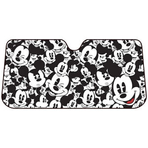 Disney Micky Mouse Car Truck Universal Front Windshield Accordion Sun Shade New