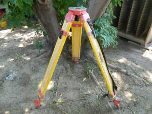 Transit Tripod 42 Tall Surveyor Contractor Level Tripod Allen Equipment