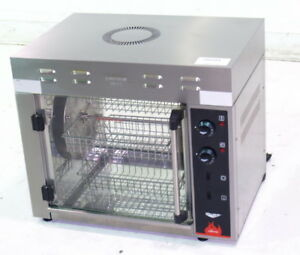 Used Vollrath 40704 8 Chicken Rotisserie Oven Electric Stainless 2700w