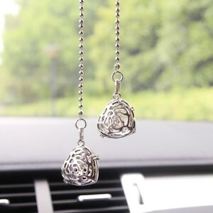 Love Car Rear View Mirror Pendant Hanging Ornament Interior Decor Accessories