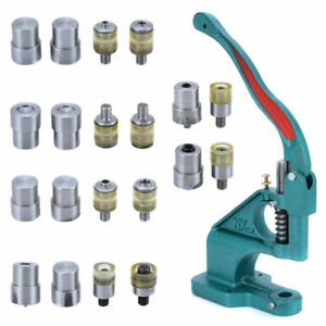 Hand Pressure Pressing Clamp Machine Sewing Tool Claw Clasp Snap Fastener Dies $39.99
