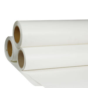 24 x98 Roll White Color Printable Heat Press Transfer Vinyl For T shirt Fabric