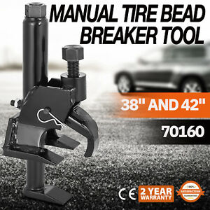 Vevor 70160 Manual Tire Bead Breaker Loosens Rim Wrench Repair Tire Repair