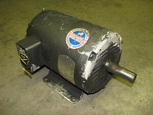 Baldor Industrial Electric Motor M3218t 5hp 1725 Rpm 3phase 208 230 460 Volt Ac