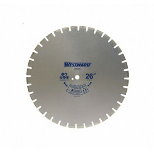 26 Wet Diamond Saw Blade 26 Blade Dia Segmented Rim Masonry concrete