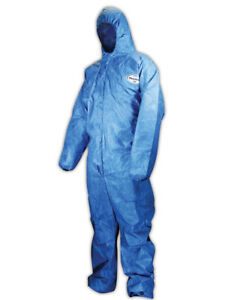 Kimberly clark Kleenguard A60 Hooded Disposable Coveralls 3xl 20 Pack