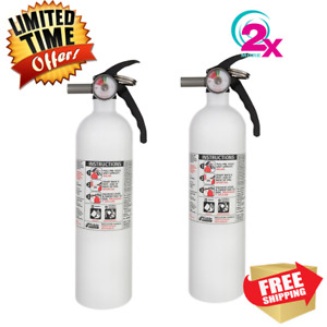 2 Pack Dry Chemical Marine auto Fire Extinguisher Car Vehicle Truck Safety Kidde