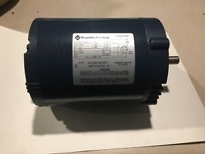 Franklin Electric 1 3 Hp Electric Motor part No 1101451102 Free Shipping