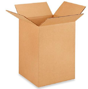 50 8x8x12 Cardboard Paper Boxes Mailing Packing Shipping Box Corrugated Carton
