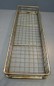 304 Ss Welded Wire Mesh Industrial Basket 1 Mesh X 080 24 X 8 X 3 Tmt 240080