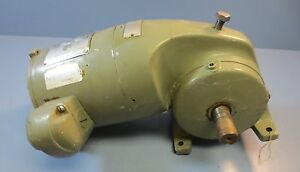 Us Electric 3 Ph 1 5 Hp Syncrogear Geared Motor 100 Rpm Final F 1582 01
