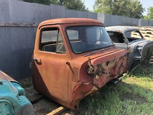 1953 1954 1955 Ford Truck Cab W Doors 53 54 55