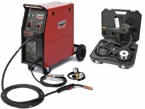 Century lincoln K2783 1s 255 Mig Welder With Spool Gun Bonus new