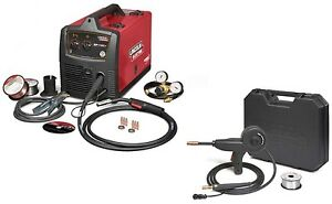 Lincoln Electric U2688 3s Sp 140t Mig Welder With K2532 1 Magnum 100 Sg Spoolgun