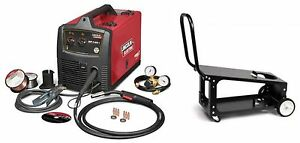Lincoln Electric U2688 3c Sp 140t Mig Welder With K2275 3 Welding Cart