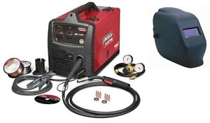Lincoln U2688 3h Sp 140t Mig Welder 120 Volt 140 Amp With Adf Helmet