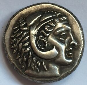 Alexender Coin Of Greece Kingdom Of Macedonia