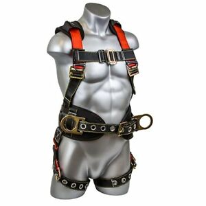 Construction Safety Harness Torso Body Support Rescue Protective Strap Gear Vest