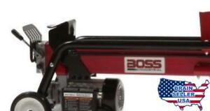 Boss Industrial Es7t20 Electric Log Splitter 7 ton New Free Shipping New
