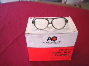 Ao Industrial Protective Eyewear Safety Clear Glasses 00100 30000 10 Per Box