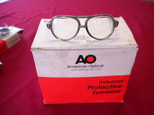 Ao Industrial Protective Eyewear Safety Clear Glasses 21660