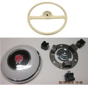 Ivory Steering Wheel Horn Button Kit Fits Willys Pickup Wagon Delivery 50 56