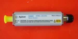 Agilent 346c 10mhz 26 5ghz Noise Source 3 5mm Connector
