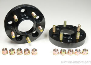 25mm Hubcentric Wheel Spacer Adapter Fit Ford Mustang Cobra V8 1 2 Unf Year 1995