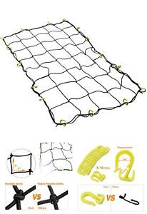 Cargo Nets For Pickup Trucks With Hooks Large Bungee Cord Netting Accessories