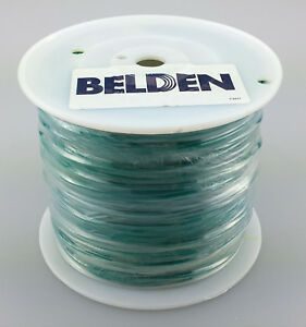 New 30 Foot Roll Of Belden 18awg Stranded Silver Plated Copper Tfe teflon Wire