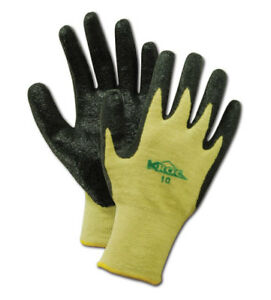Magid K roc Made With Kevlar Nitrile Palm Coated Gloves Size 12 12 Pairs